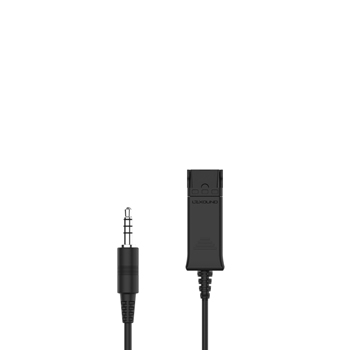 JACK 3.5MM STANDARD-SINGLE PIN CORD.